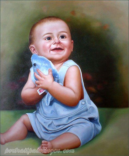 Custom Portrait Painting China