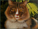 animal and pets portrait oil painting from photo