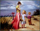 oil painting reproductions-medium quality